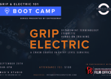 Grip and Electric 101 Boot Camp at Bud's Studio