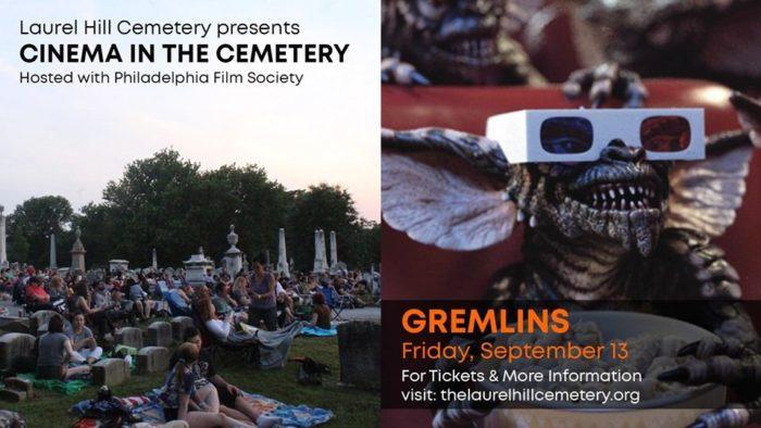 Cinema in the Cemetery Philadelphia Film Society